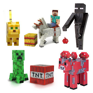 All Minecraft Overworld Figures