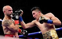 BOXEO - Leo Santa Cruz dejó KO la posibilidad de que Kiko Martínez volviera a ser campeón