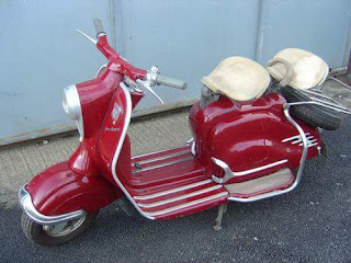 For sale : BPKB NSU Prima Scooter 150cc 1957, warna merah