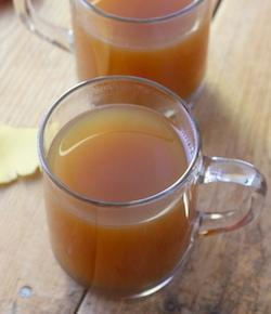 Chai-spiced apple cider recipe