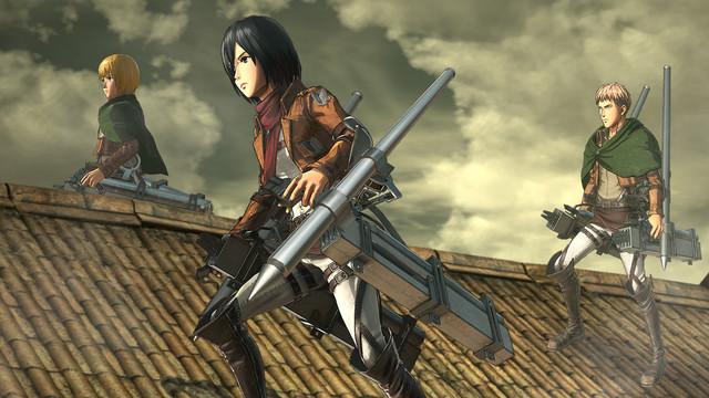 Teaser Game Atack on Titan 2: Final Battle Menunjukan Senjata Thunder Spears