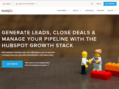Hubspot offers everything from marketing to sales and clients management