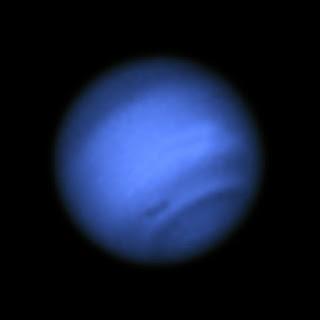 Neptune with Dark Spot (Blue Light)