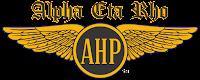 Alpha Eta Rho (AHP) International Aviation Fraternity Logo and Wings