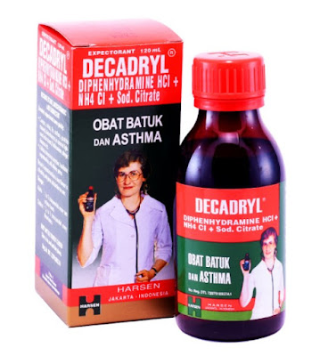Decadryl - Manfaat, Dosis, Efek Samping dan Harga