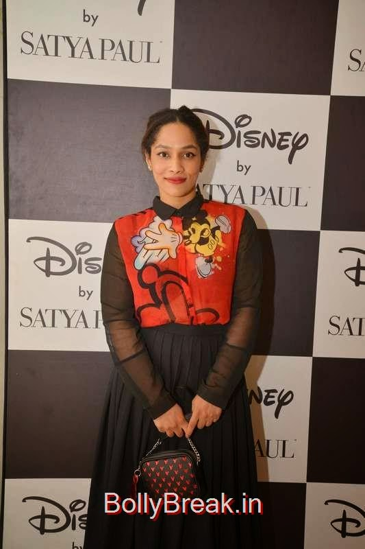 Masaba Gupta, Esha Gupta, Mandira Bedi and Masaba Gupta Hot Pics at the Launch of Disney Mono Pop by Satya Paul