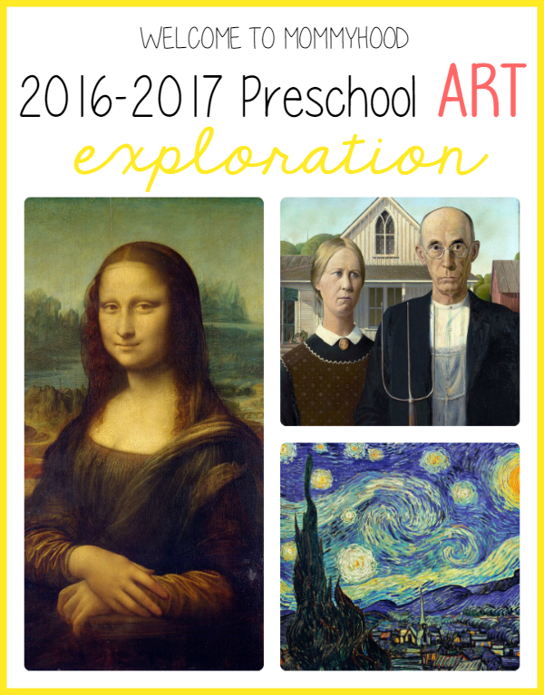 2016-2017 preschool art plans, #montessori, #preschool, #homeschool, #preschoolplanning