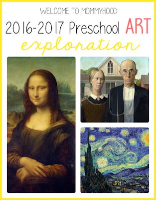 2016-2017 preschool art plans, #montessori, #preschool, #homeschool, #preschoolplanning