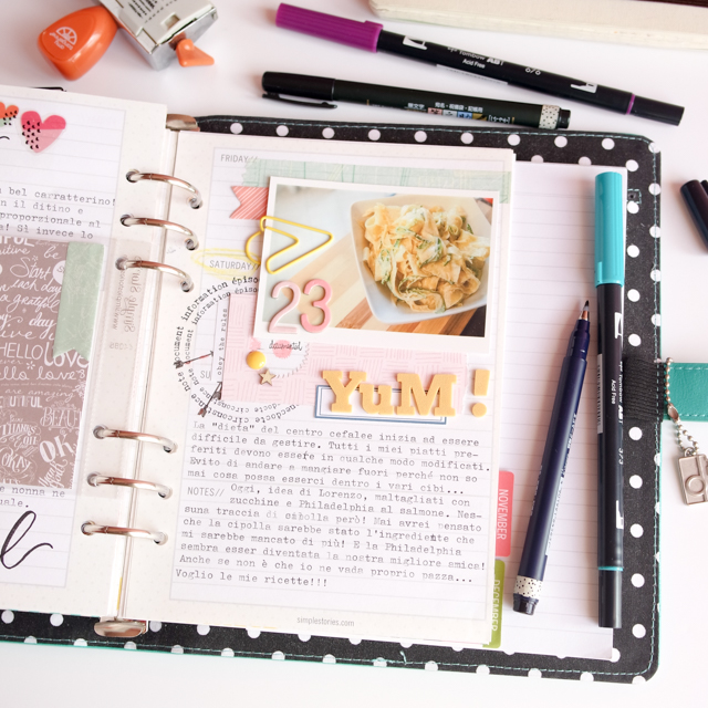 scrappin'planner by kushi settembre ottobre 2016 15| www.kkushi.com