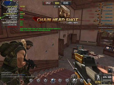7 Januari 2018 - Oksalat 6.0 Point Blank Garena Wallhack, ESP Mode, Auto Headshoot, 1 Hit, Aimbullet, Auto Killer, No Recoil, Full Mode VVIP
