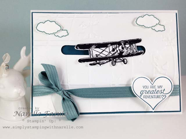 Narelle Fasulo - Independent Stampin' Up! Demonstrator - Simply Stamping with Narelle - Sky is the Limit - Sale-A-Bration item FREE with a $90 order - http://www3.stampinup.com/ECWeb/default.aspx?dbwsdemoid=4008228