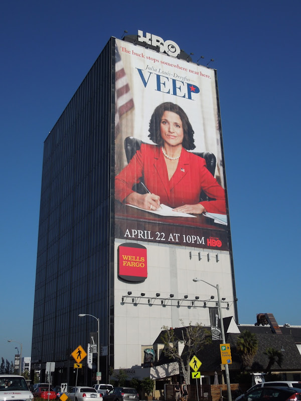 Giant Veep HBO billboard