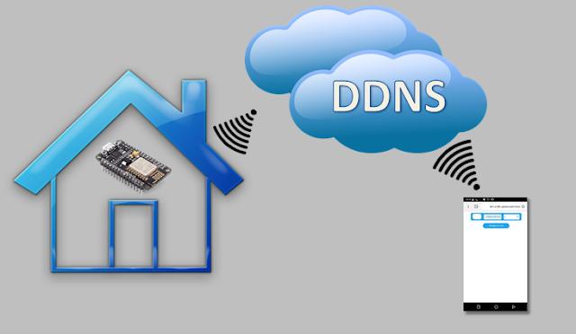 ESP8266 Automação com Interface Web e DDNS