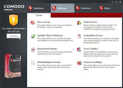 Comodo Antivirus 2012 (Free)
