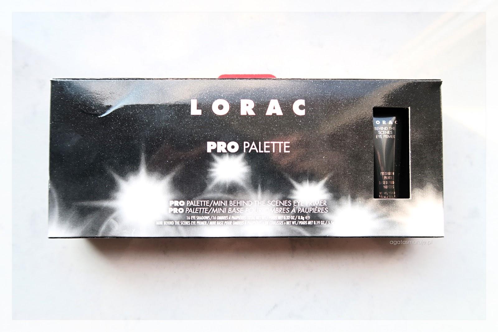 Paleta Lorac PRO: świetna jakośćw mniej świetnej cenie