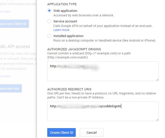 Login using Google Javascript API [Sample Code] My Codde