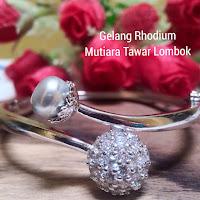 Mutiara Lombok Terbaru Bahan Rhodium