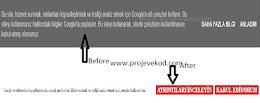 Blogger Çerez Uyarısını Ekleme Düzenleme Kodu