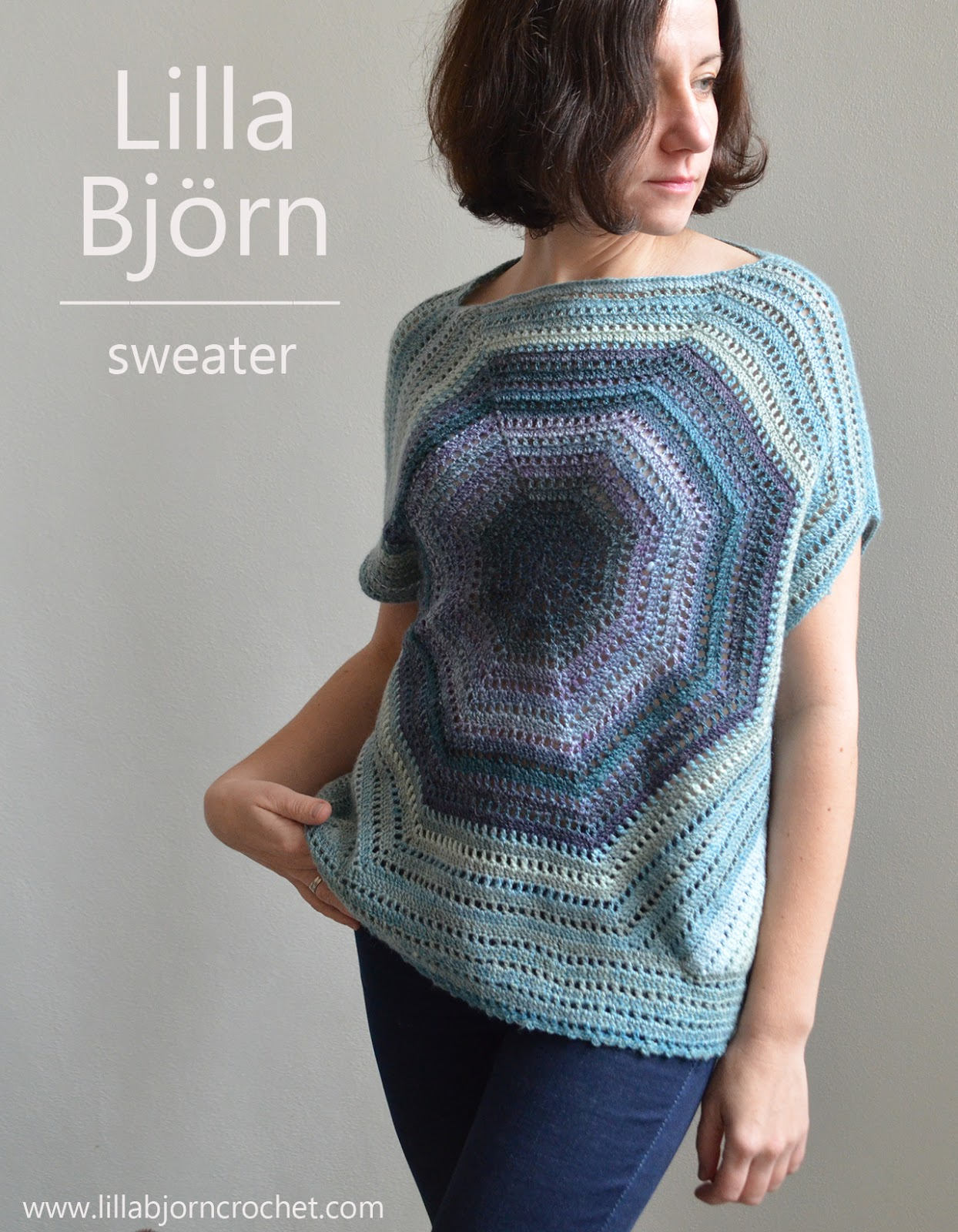 Lilla Björn Sweater: Reveal | LillaBjörn\'s Crochet World