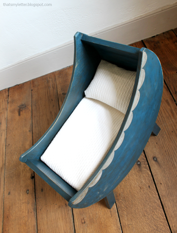 diy moon doll bassinet