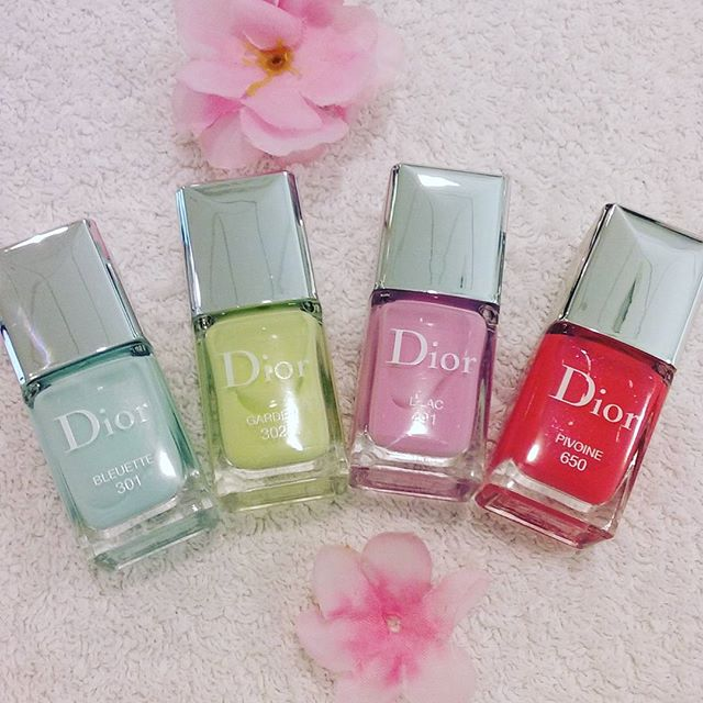 dior smalti glowing gardens