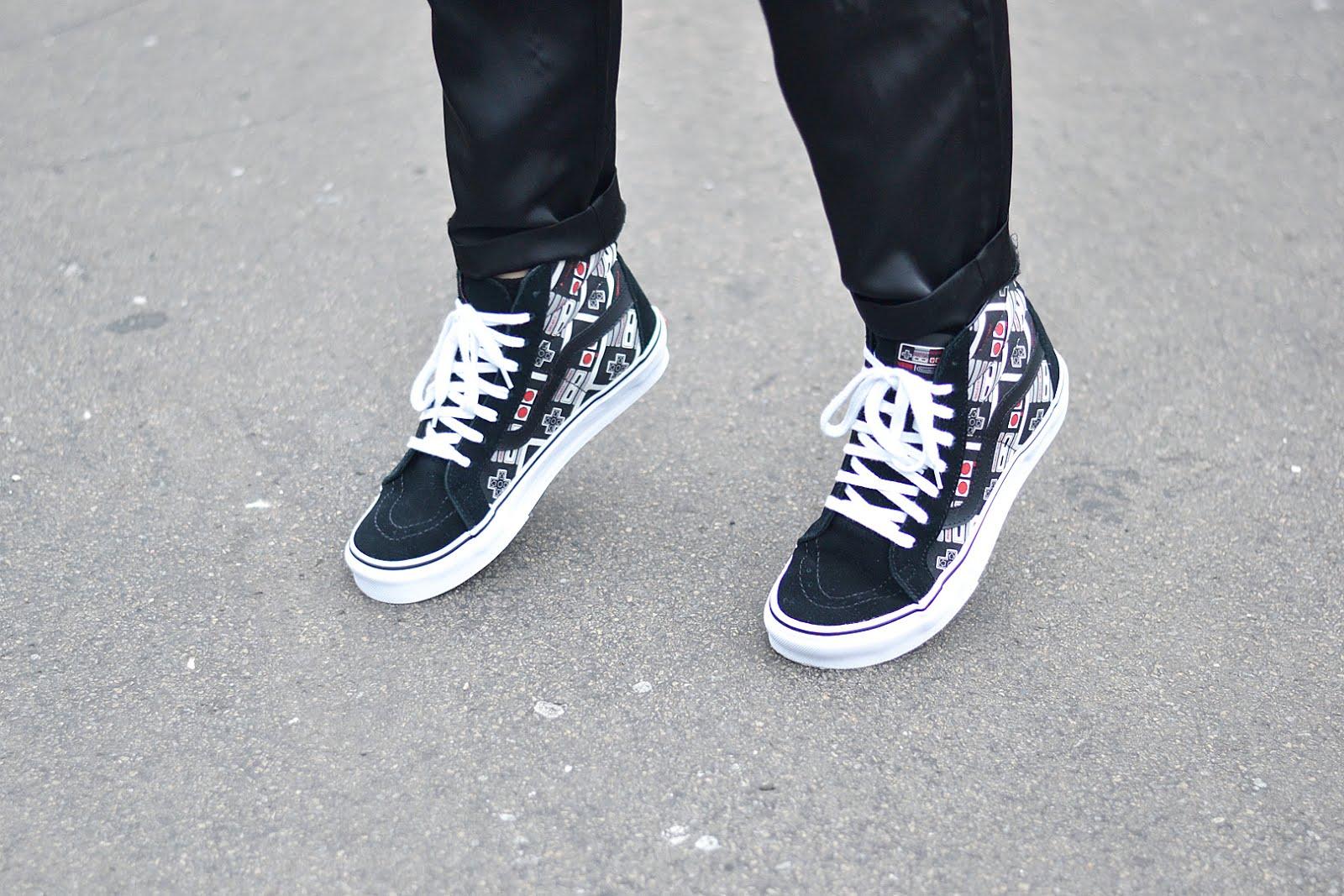 Vans x nintendo sneakers, outfit, street style, belgian blogger, belgische mode blogger