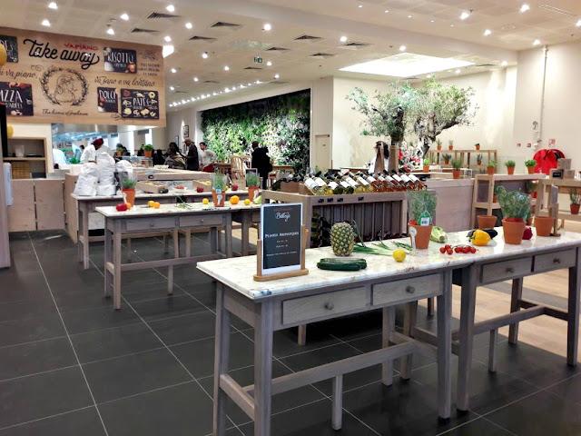 Restaurant centre commercial les 4 Temps Vapiano HD Diner L'atelier-artisan crêpier bistro l'atelier food burger pizza pâtes brunch crêpes Paris La Défense