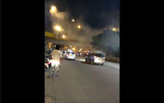 Olah TKP Bom Bunuh Diri Kampung Melayu: 2 Pelaku dan 3 Anggota Polisi Tewas