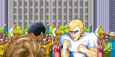 black street fighter characters