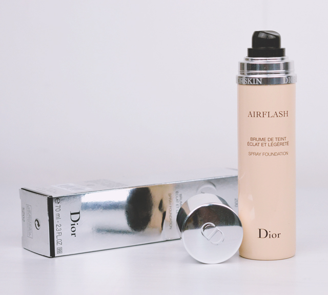 Dior Diorskin Airflash Spray Foundation review