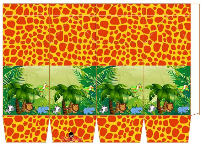 The Jungle: Free Printable Milk Boxes.