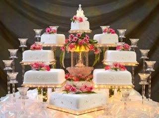 Types of Wedding Cake multi storey