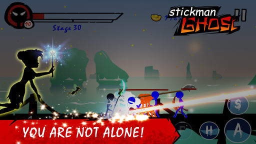 Stickman Ghost Ninja Warrior Mod Apk