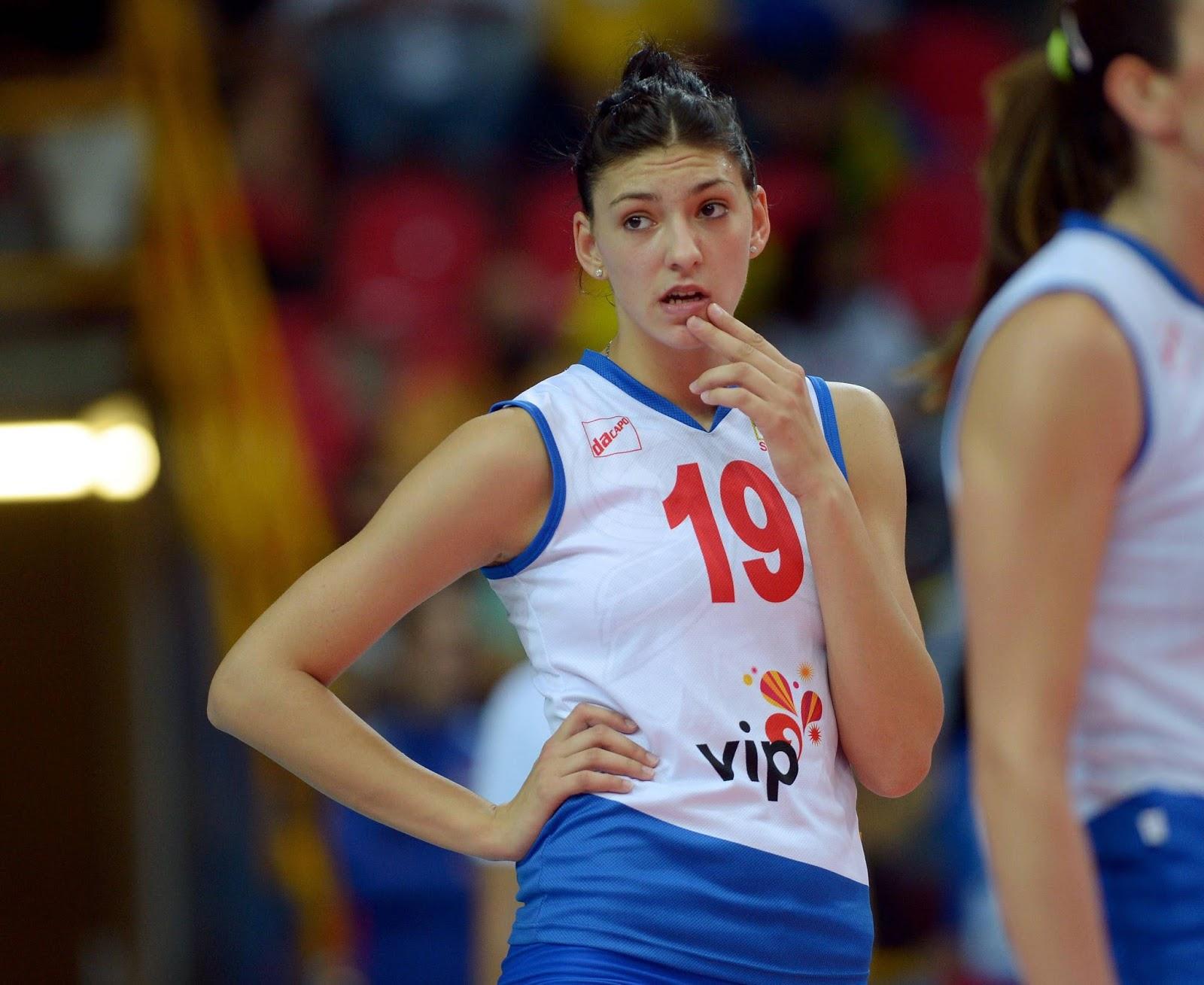 Tijana Boskovic Atlet Bola Voli Wanita Serbia Profil Atlet