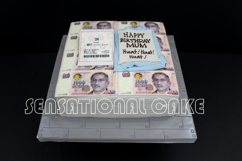 The Sensational Cakes MONEY NOT ENOUGH THEME 3D CAKE MONEY CAKE