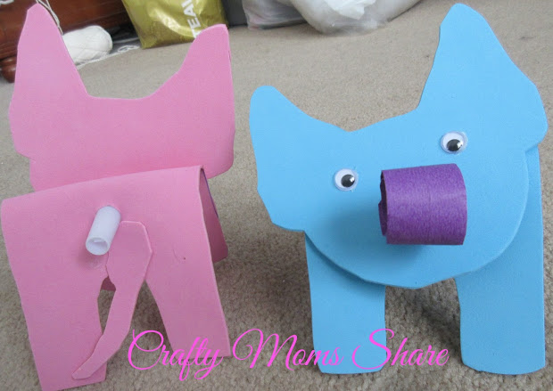 Elephant Craft Template - imgUrl