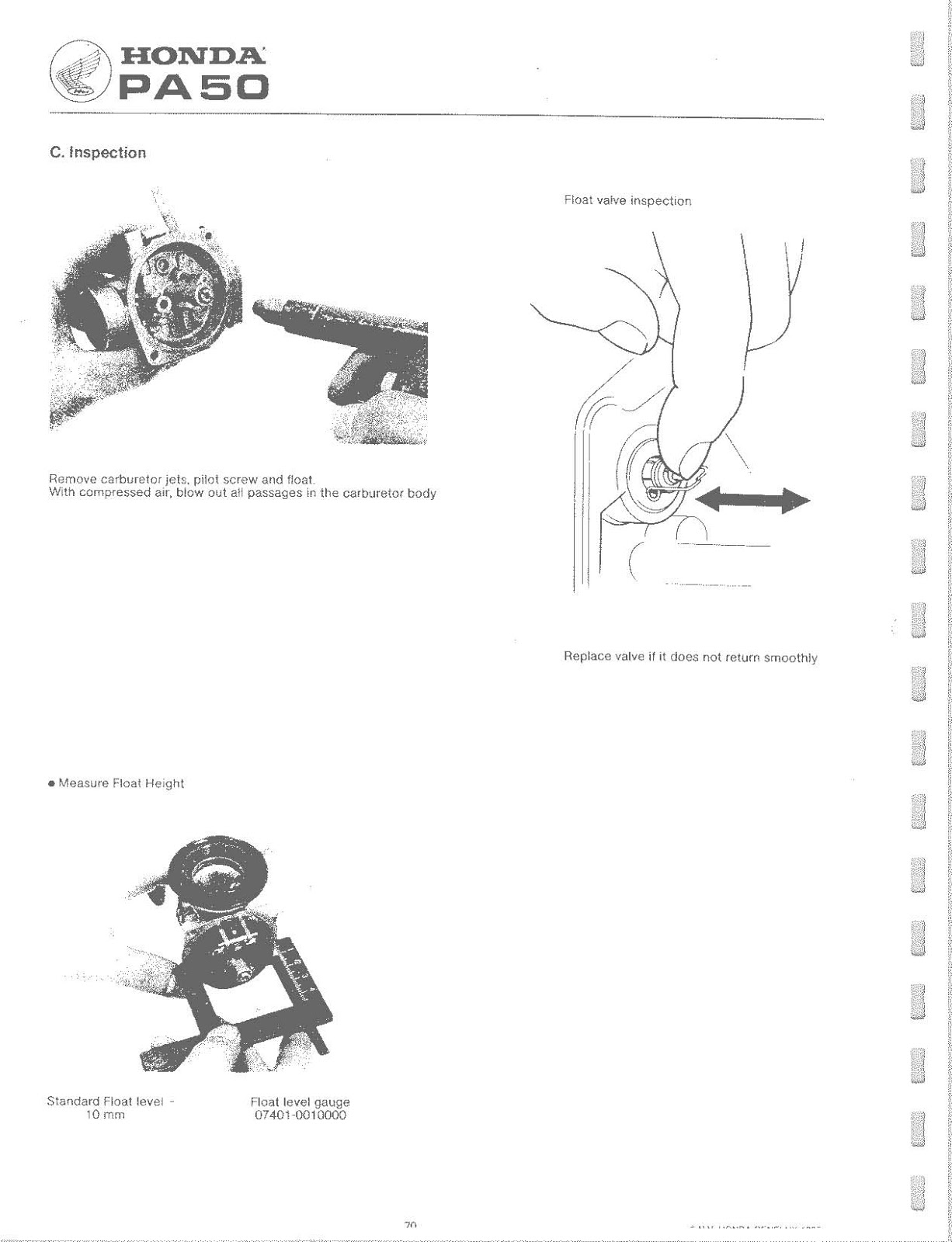 OB1 Repairs: Honda PA50 Service Manual