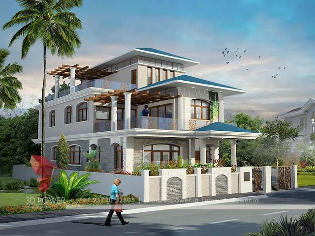 cute modern budget house unique bungalow model exterior design - House Design Model