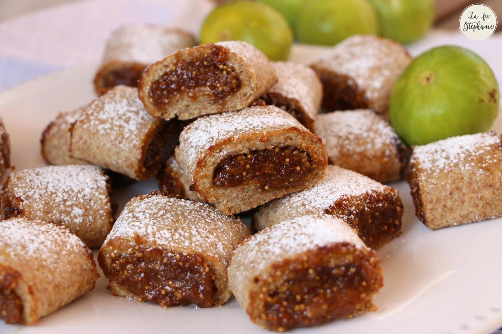 Biscuits aux figues fra ches recette sans oeuf ni lactose la f e st phanie - Cuisiner des figues fraiches ...
