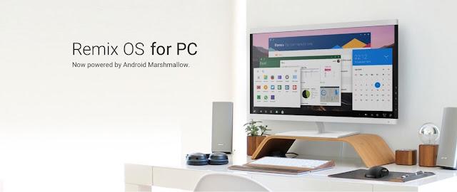 Descargar Remix OS 3.0 Android para PC basado en Android Marshmallow - Gratis