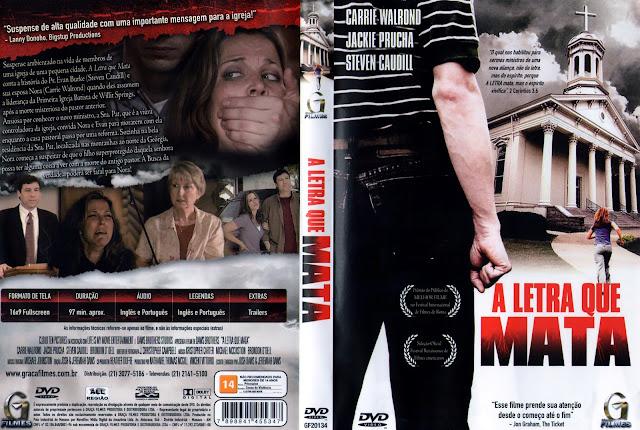 Capa DVD A Letra Que Mata