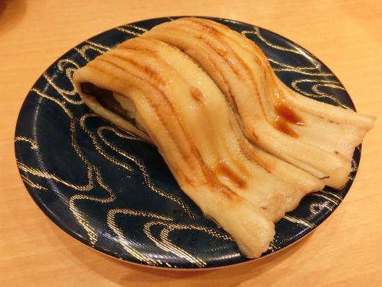奈良のお寿司、大煮穴子の写真
