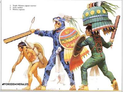 obsidiana guerreros imperio azteca | foro de minerales