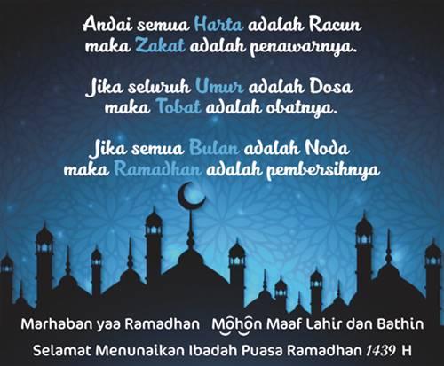 kata-kata, ucapan selamat menunaikan ibadah puasa ramadhan,
