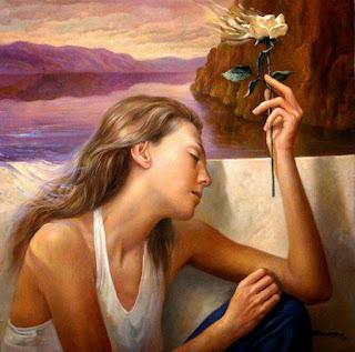 bodegones-y-figura-humana-tema-en-pinturas cuadros-realistas-pinturas