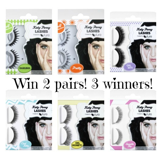 54e5b1a242d You can win 2 pairs of: Katy Perry Sweetie Pie Lashes. Katy Perry Cool Kitty  Lashes.