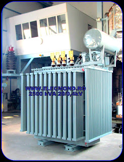 Transformatoare 2500 kVA 20/0,4 kV , transformator de putere TTU- ONAN 2500 kVA 20/0,4 kV  , transformatoare trifazate in ulei , trafo 2500 kVA 20/0,4kV , Elecmond Electric