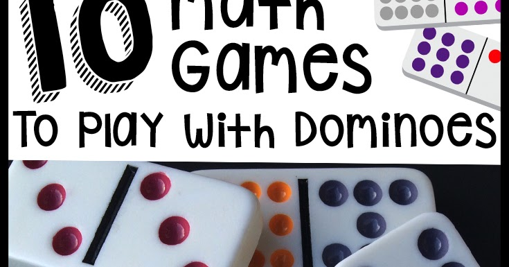Classroom Freebies: Math Games with Dominoes