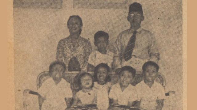 Foto Keluarga KH. Wachid Hasyim