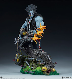 DC Comics – Lobo Maquette by Sideshow